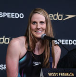 Missy Franklin. NEW YORK-DEC 15: American Olympic swimmer Stock Photo