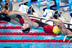 Missy Franklin (USA) Royalty Free Stock Photography