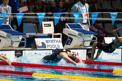 Missy Franklin ( USA) Royalty Free Stock Photos