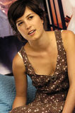 Missy Higgins being interviewed. For a tv show Royalty Free Stock Photography