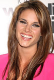 Missy Peregrym. LOS ANGELES - MAY 17:  Missy Peregrym arriving at the Love, Wedding, Marriage LA Premiere at Silver Screen Theater at the Pacific Design Center Royalty Free Stock Photos