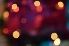 Mistério cor-de-rosa e azul dos ligths fotos de stock royalty free