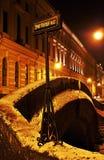 Mistério da noite no St-Peterburg Imagem de Stock Royalty Free
