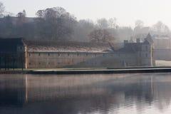 Mist Chateau Stock Photos