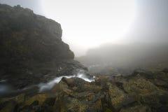 Mist en berg Stock Fotografie
