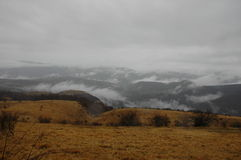 Mist en wolk Stock Afbeelding