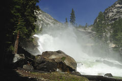 Mist Falls in Kings Canyon National Park Royalty Free Stock Photography