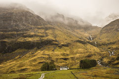 Mist in Glencoe Royalty Free Stock Images