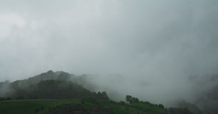 Mist on hill Royalty Free Stock Images