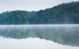 Mist on Lake Stock Images