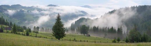 Mist in mountain Stock Photos