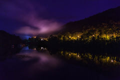 Mist at night. Stock Image