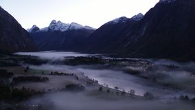 Mist och dimma i Norge lager videofilmer