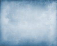 Mist op Blauw Royalty-vrije Stock Foto