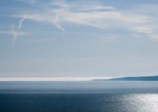 Mist op de Horizon stock foto