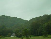 Mist op heuvel Royalty-vrije Stock Fotografie