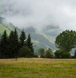 Mist op heuvel Stock Fotografie