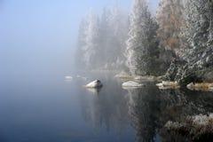 Mist op Pleso. Royalty-vrije Stock Foto
