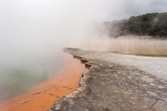 Mist over Champagne pool Royalty Free Stock Image