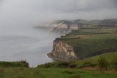 Mist over de rivier royalty-vrije stock foto