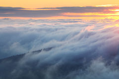 Mist Over Mountain Royalty Free Stock Image