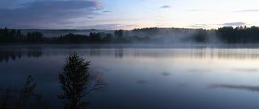 Mist over overzees Royalty-vrije Stock Foto