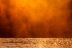 Mist over water Royalty-vrije Stock Foto's