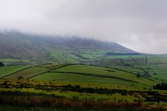 Mist of Pendle Hill Royalty Free Stock Images