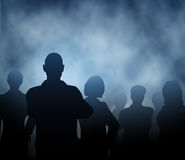 Mist people Royalty Free Stock Photos
