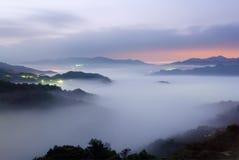 Mist scenery Stock Images