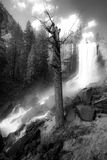 Vernal waterfall Royalty Free Stock Photography