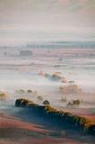 Mist in the valley Stock Photography