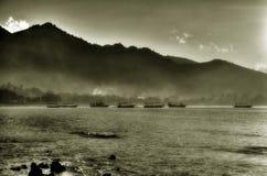 Mist van zonsopgang Stock Afbeelding