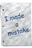 Mistake Royalty Free Stock Images