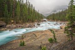 Mistaya Canyon, Alberta, Canada Royalty Free Stock Photography
