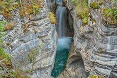 Mistaya Canyon, Alberta, Canada Stock Photography
