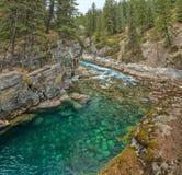 Mistaya Canyon, Alberta, Canada Stock Photos