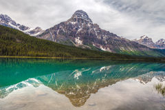 Mistaya Lake- Banff National Park- Alberta- Canada. This magnificent lake is a photographers' dream Stock Photo