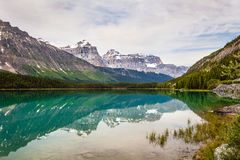 Mistaya Lake- Banff National Park- Alberta- Canada Royalty Free Stock Photo