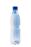 Misted塑料瓶 免版税库存图片