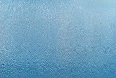 Misted exponeringsglasbakgrund Stark fuktighet i vintertid arkivfoton