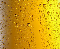 Misted glass of beer. Close up shot Stock Photos