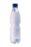 Misted plastic bottle Royalty Free Stock Image