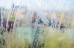 Misted window Royalty Free Stock Photos