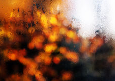 Misted window Stock Images