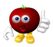 Mister fruit character Stock Photos