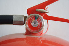 Mister. Scale fire safety Stock Photos