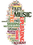Mister Upload Your Free Musical Upload Service Text Background  Word Cloud Concept. MISTER UPLOAD YOUR FREE MUSICAL UPLOAD SERVICE Text Background Word Cloud Royalty Free Stock Images