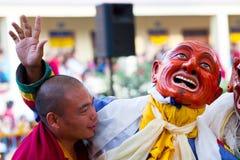 Misterio del Cham, Nepal fotografía de archivo