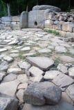 Misterio del dolmen de edificios antiguos Imágenes de archivo libres de regalías